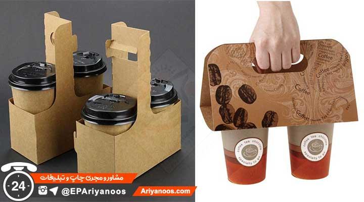 هولدر قهوه   جا قهوه ای بیرون بر   جعبه قهوه   بسته بندی قهوه بیرون بر
