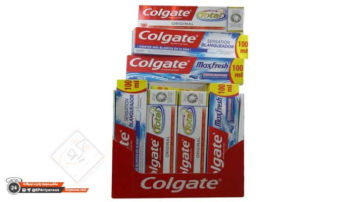 طراحی جعبه خمیر دندان   رنگ روی جعبه خمیر دندان   بسته بندی خمیر دندان   کارتن خمیر دندان   ساخت جعبه خمیر دندان   تولید جعبه مقوایی در تهران   پخش عمده انواع جعبه خمیر دندان   سفارش بسته بندی خمیر دندان   چاپ جعبه خمیر دندان   چاپ اختصاصی کارتن خمیر دندان   قیمت جعبه خمیر دندان   جعبه خمیر دندان ارزان قیمت   فروش کارتن خمیر دندان